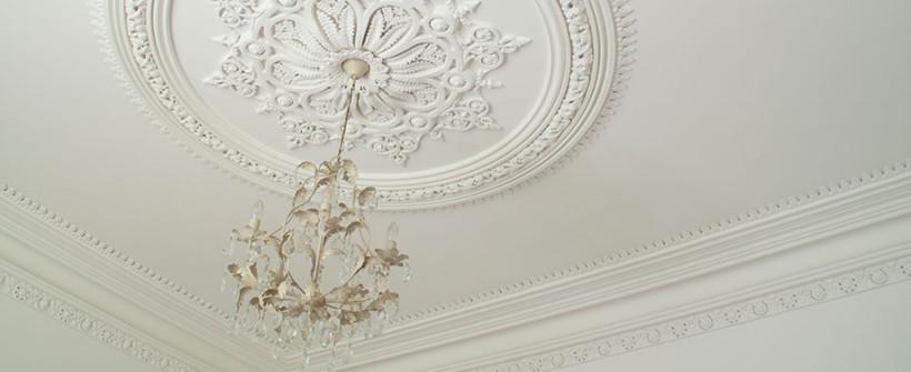 Ornate ceiling rose