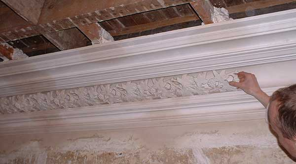 Decorative cornice enrichments