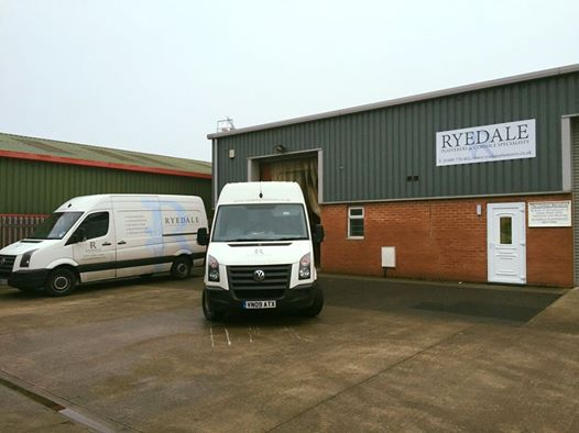 new business premises for Ryedale Plasterers