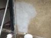 lime render being used in repairing lime plaster walls