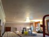 room before any plaster ceiling design work was installed