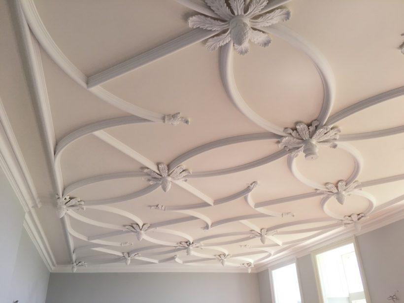 elegant plaster ceiling design