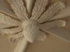 plaster ceiling design with ceiling rose