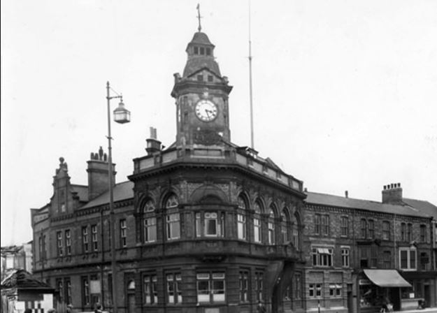Victorian Thornaby Town Hall that is in desperate need of decorative plaster restoration