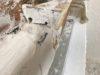 running mould used in cornice repair