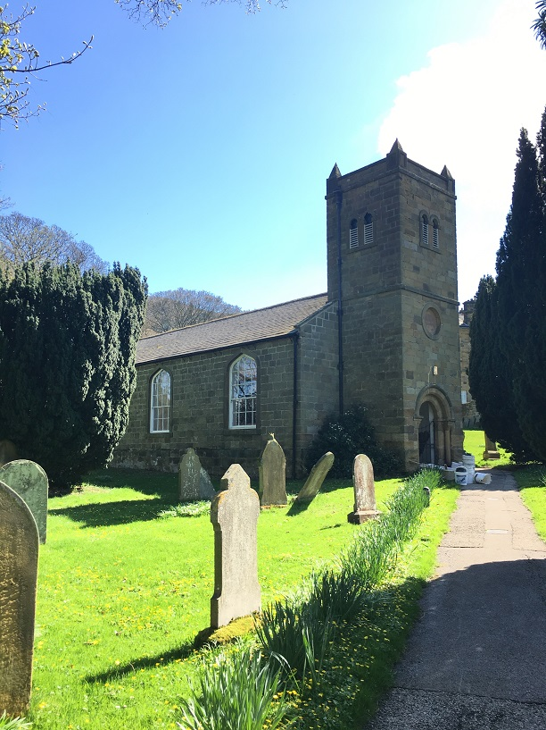 Church Of All Saints, Ingleby after historic church restoration