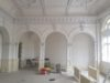 decorative plasterwork in a grade II listed building