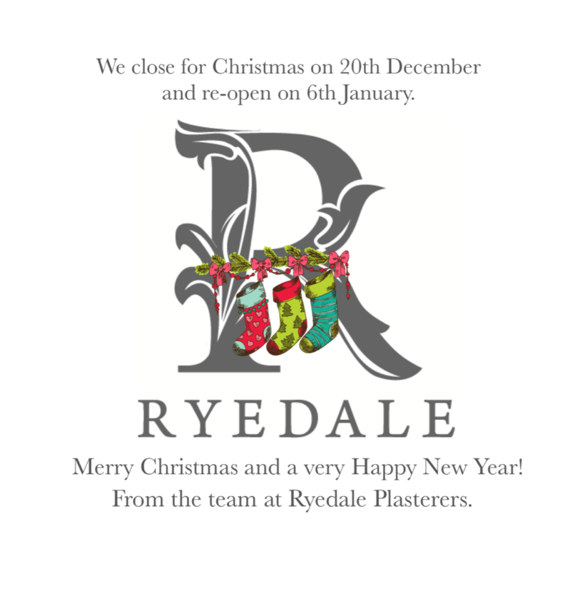 festive wishes from the Ryedale Plasterers