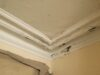 An example of water damaged cornice.